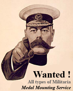 Wanted medals