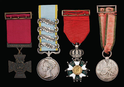 Medal mounting service